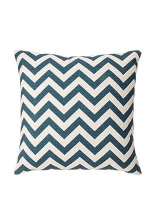 The Pillow Collection Xayabury Zig-Zag Decorative Pillow, Titan, 18
