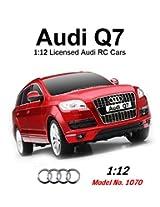 Mitashi Dash  1:12  Rechargeable R/C Audi Q7, Red