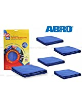 W-ABRO Microfiber Car Cleaning Cloth CT-210(Set Of 5)