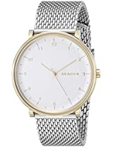 Skagen Analogue White Dial Women's Watch - SKW6170