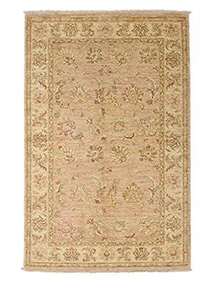 Darya Rugs Oushak Oriental Rug, Beige, 4' x 6' 1