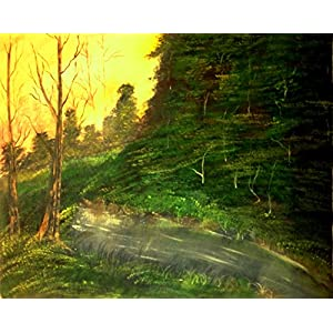 NUCreations Into The Wild - 5 - Original Painting - Oil Paint On Canvas