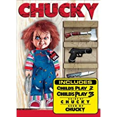 チャイルド・プレイ 2枚組4作品Chucky: The Killer Collection [DVD] [Import]