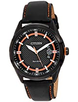 Citizen Eco-Drive Analog Black Dial Men's Watch AW1184-13E