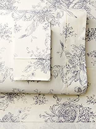 Mélange Home 400 TC Cotton Toile Sheet Set