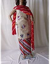 Ala Creations Jute Dress Material