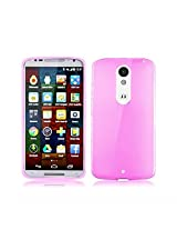 Best Deals - Premium Silicon Soft Case Cover for Motorola Moto X Play - Pink