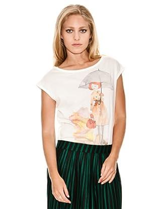Springfield Camiseta Chica (marfil)