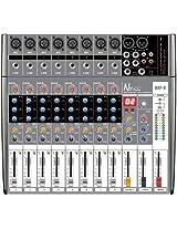 NX Audio Proton BXP8 Live Sound 8Ch Mixer