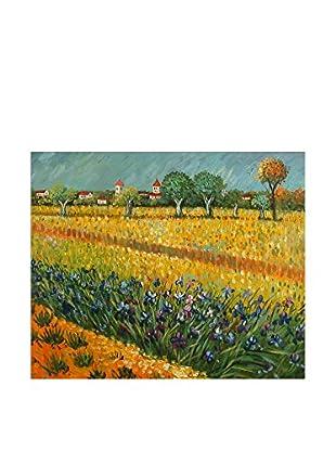 Arte dal Mondo  Wandbild Van Gogh Campo Di Fiori