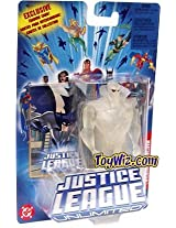 Justice League Unlimited Clear Martian Manhunter Action Figure