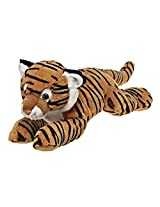 Fiesta Laydown Tiger Stuffed Animal 16.5 Inches