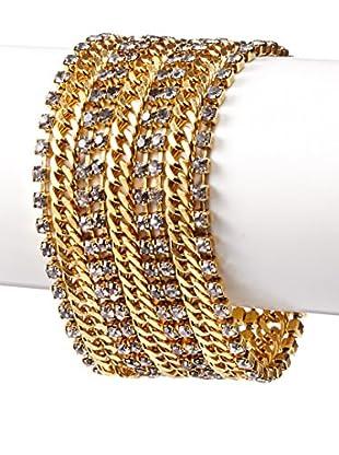 Tova Sparkling Multi Strand Bracelet