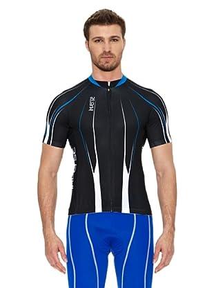 Inverse Maillot Ciclismo Silver (Negro)