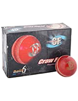 CF County Men Leather Ball Standard Size Red
