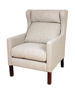Control Brand Bernhard Wing Arm Chair, Wheat