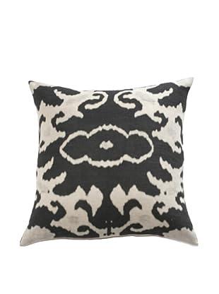 Filling Spaces Black Print Pillow, Black