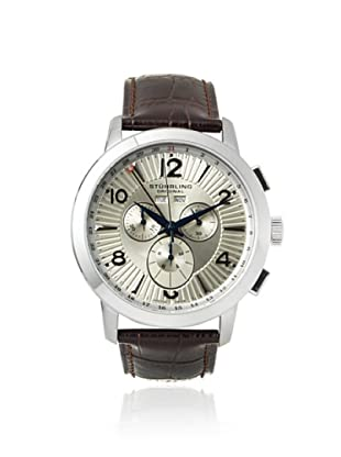 Stuhrling Men's 132XL.3315K43 Symphony Brown/Champagne Stainless Steel Watch