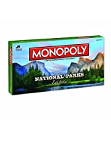 National Parks Monopoly Board Game