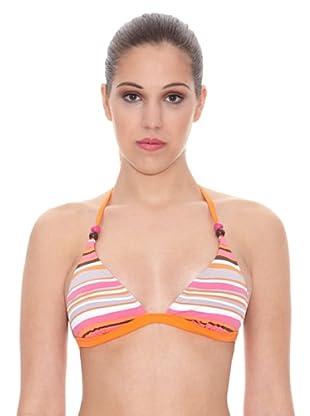 DIM Sujetador Bikini Triangulo Wave (Rosa)