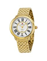 Michele Serein Mother of Pearl Dial Gold-tone Stainless Steel -MWW21B000017