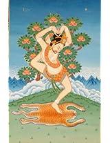 Mahasiddha Jalandhara - Tibetan Thangka Painting
