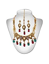 Niki Jewels HG Copper Base Neckalce for women (Multicolour) (021 006 100)