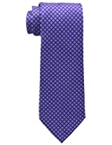 Tommy Hilfiger Men's Core Micro Tie, Purple, One Size