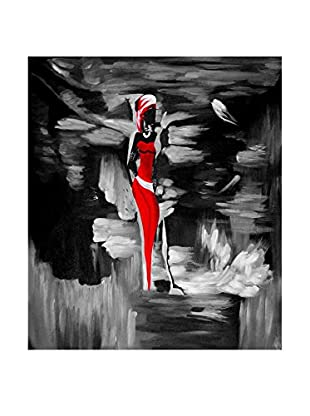 Legendarte Ölgemälde auf Leinwand Figura In Risalto