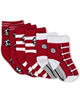 Country Kids Baby Boys' Soccer Pick A Mix 3 Pair Socks