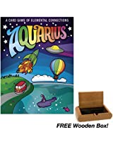 Aquarius Card Game with FREE Wooden Box