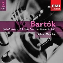 輸入盤 メニューイン(Vn)/ブーレーズ&ドラティ指揮 バルトーク:ヴァイオリン協奏曲第1番&第2番ほかのAmazonの商品頁を開く