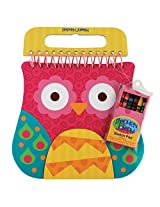Stephen Joseph Shaped Sketch Pad, Owl