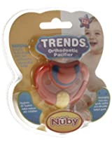 "Nuby 3D Ortho ""Door Knocker"" Pacifier (Colours May Vary)"