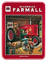 Master Pieces Puzzle Company Case/Ih Forever Red Jigsaw Puzzle (1000 Piece), Art By Charles Freitag By Master Pieces
