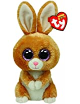 Ty Beanie Boos Carrots Brown Bunny Plush