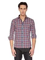 Mouli Camisa  Marcon (Rojo / Azul)