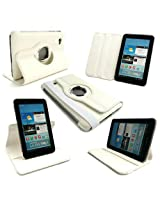 Callmate 360 degree Rotating Case/Pouch for Samsung Galaxy Tab 2 P3100/P3110 (White)