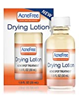 AcneFree Acne Spot Treatment Drying Lotion 1 Ounce (Pack of 2)