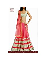 Pink Color Bollywood style Lehenga Choli - 70091 (Sam)