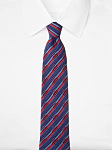 Hermès Men's Boats Tie, Red/BLue, One Size