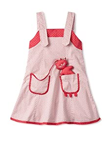 4EverPrincess Girl's Mimi Dress (Blue/Red)