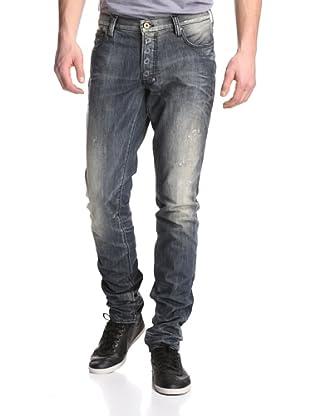 PRPS Goods & Co. Men's Fury Tapered Leg Jean (Light Wash)