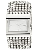 DKNY Analog Silver Dial Women's Watch - NY4661I