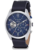 Tommy Hilfiger Chronograph Blue Dial Men's Watch - TH1791187J