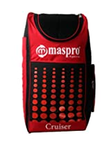 Maspro Cruiser Cricket Kit Bag Red (Back Pack Model)