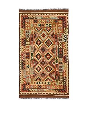 Eden Teppich Kilim-P braun/mehrfarbig 121 x 212 cm