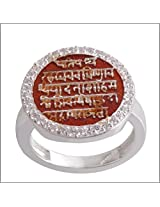 DDPearls kingly Rajmudra sterling silver ring for men
