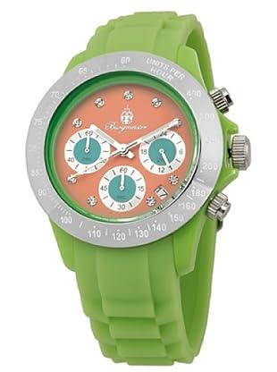Burgmeister Damen-Armbanduhr Chronograph Quarz Silikon BM514-990E
