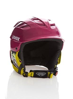Uvex Casco Ski X - Ride Junior (Berenjena / Verde)